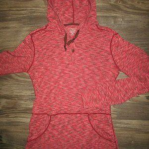 Exofficio Dri-Release Womens Red Hoodie (Medium)